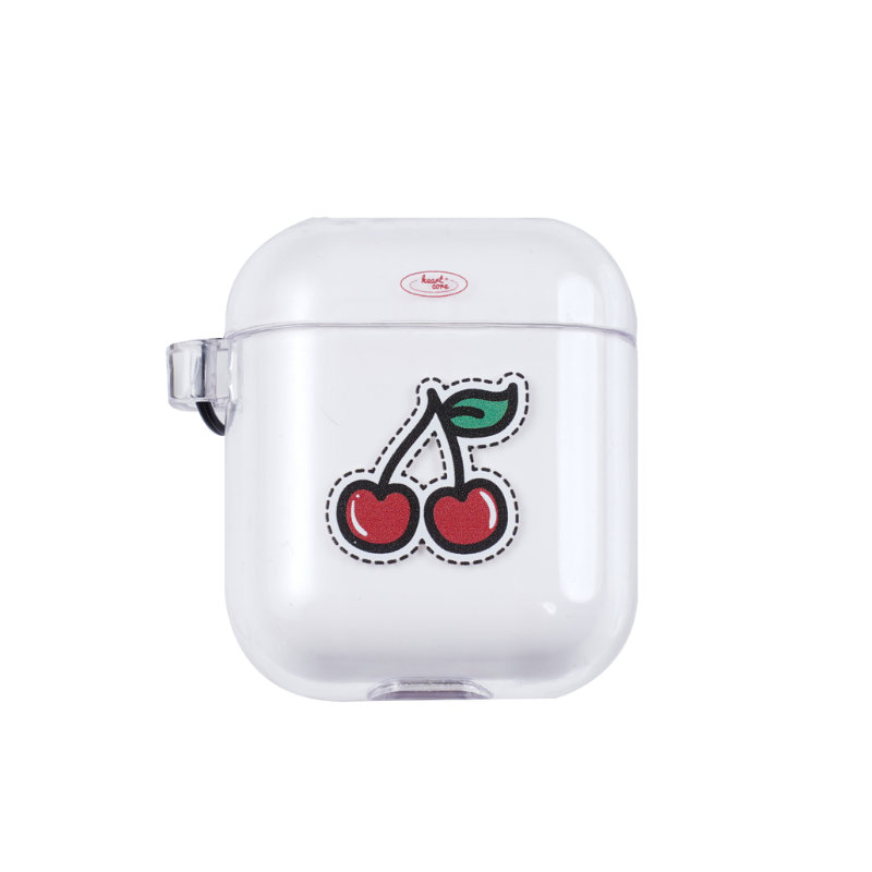 cherry cherry Airpods Crystal Case