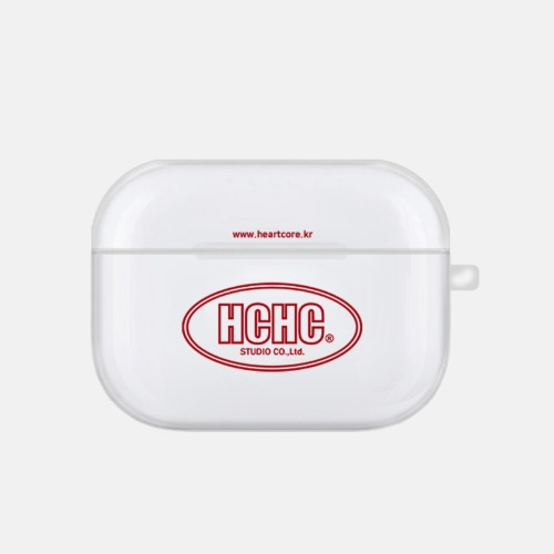 HCHC AIRPOD PRO JELLY CASE [RED]